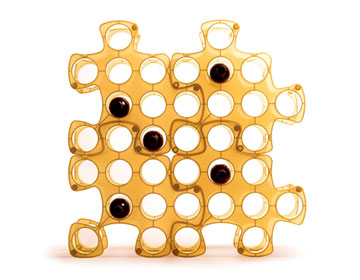 Puzzle Wine Rack by Dagan Design